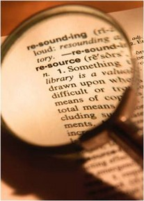 Picture of definition of resource