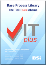 Picture of TickITplus Base Process Library front page