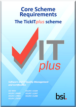 Picture of TickITplus Core Scheme Requirement front page