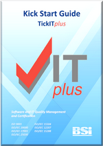 Picture of TickITplus Kick Start Guide front page